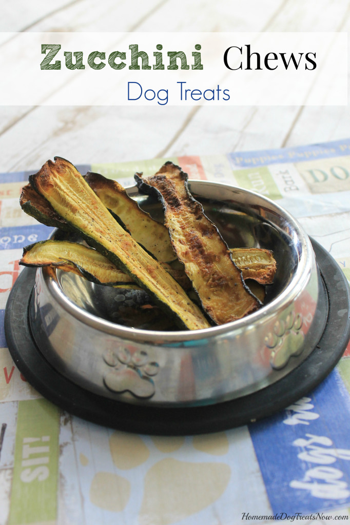 Zucchini Chews Dog Treats