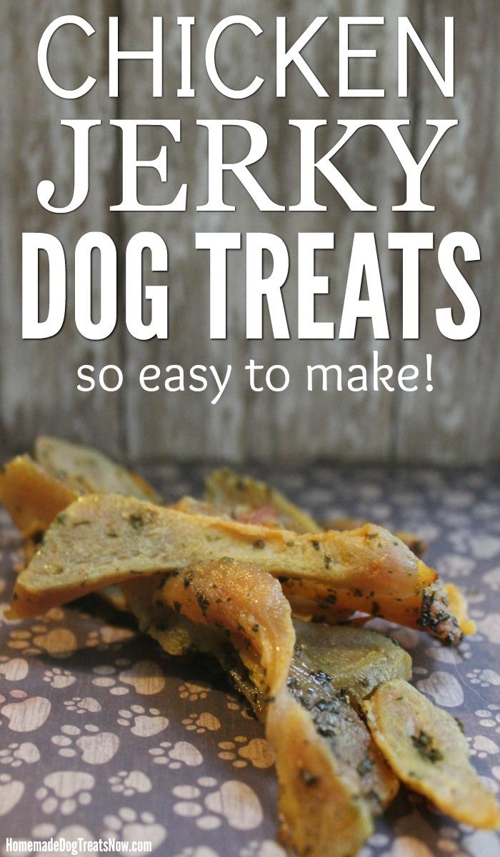 Chicken Jerky - Homemade Dog Treats